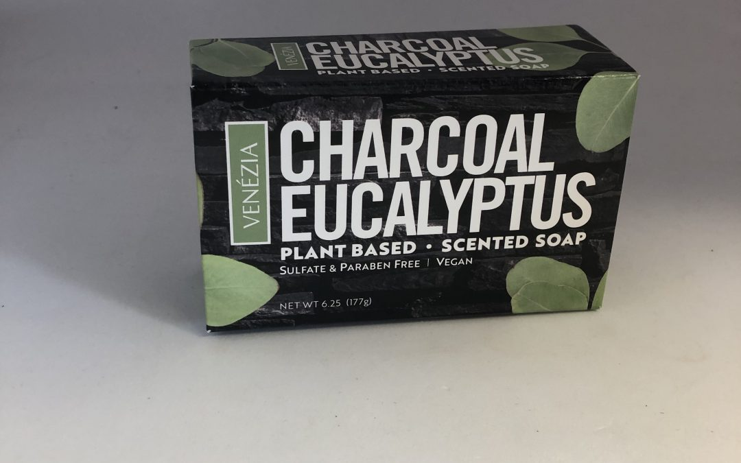 New Venezia Scent Just For Men: Charcoal Eucalyptus
